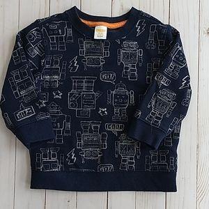 Gymboree robot sweatshirt